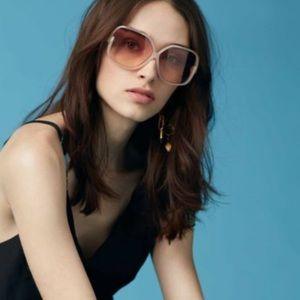 Black Oversized Square Sunglasses
